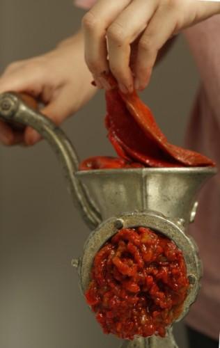 mlevenje paprika