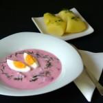 Šaltibarščiai (litvanska hladna supa od cvekle)