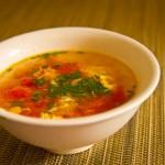 Kineska supa od paradajza i jaja